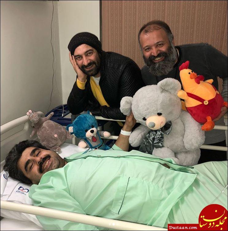 www.dustaan.com جراحی بازیگر مشهور سینما توسط تیم پروفسور سمیعی +عکس