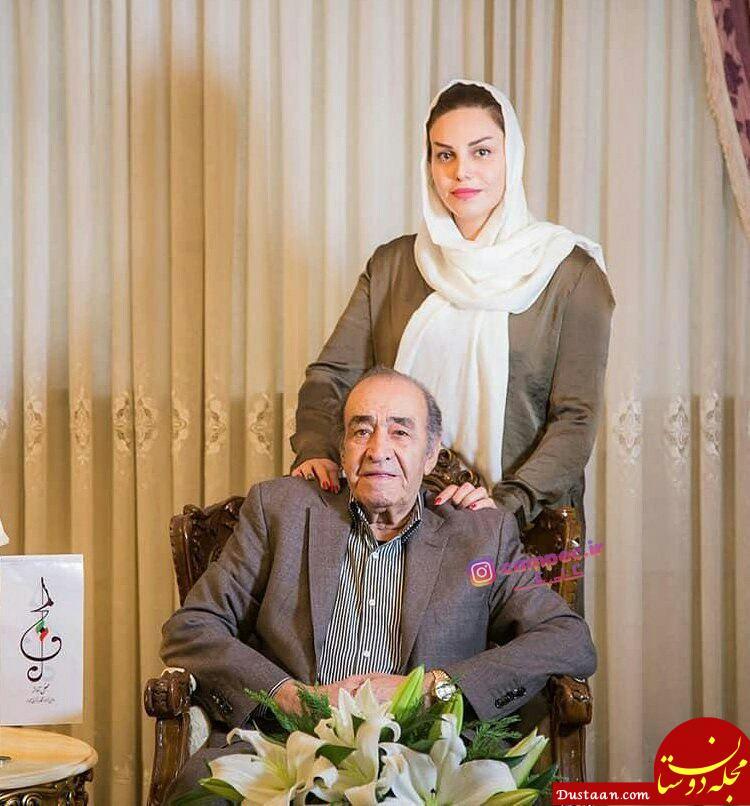 www.dustaan.com استاد ایرج خواجه امیری و دخترش الیکا +عکس