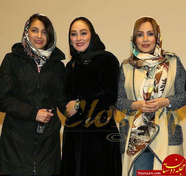 www.dustaan.com پرستو صالحی و الهام حمیدی حمیدی در مراسم اکران ثبت با سند برابر است