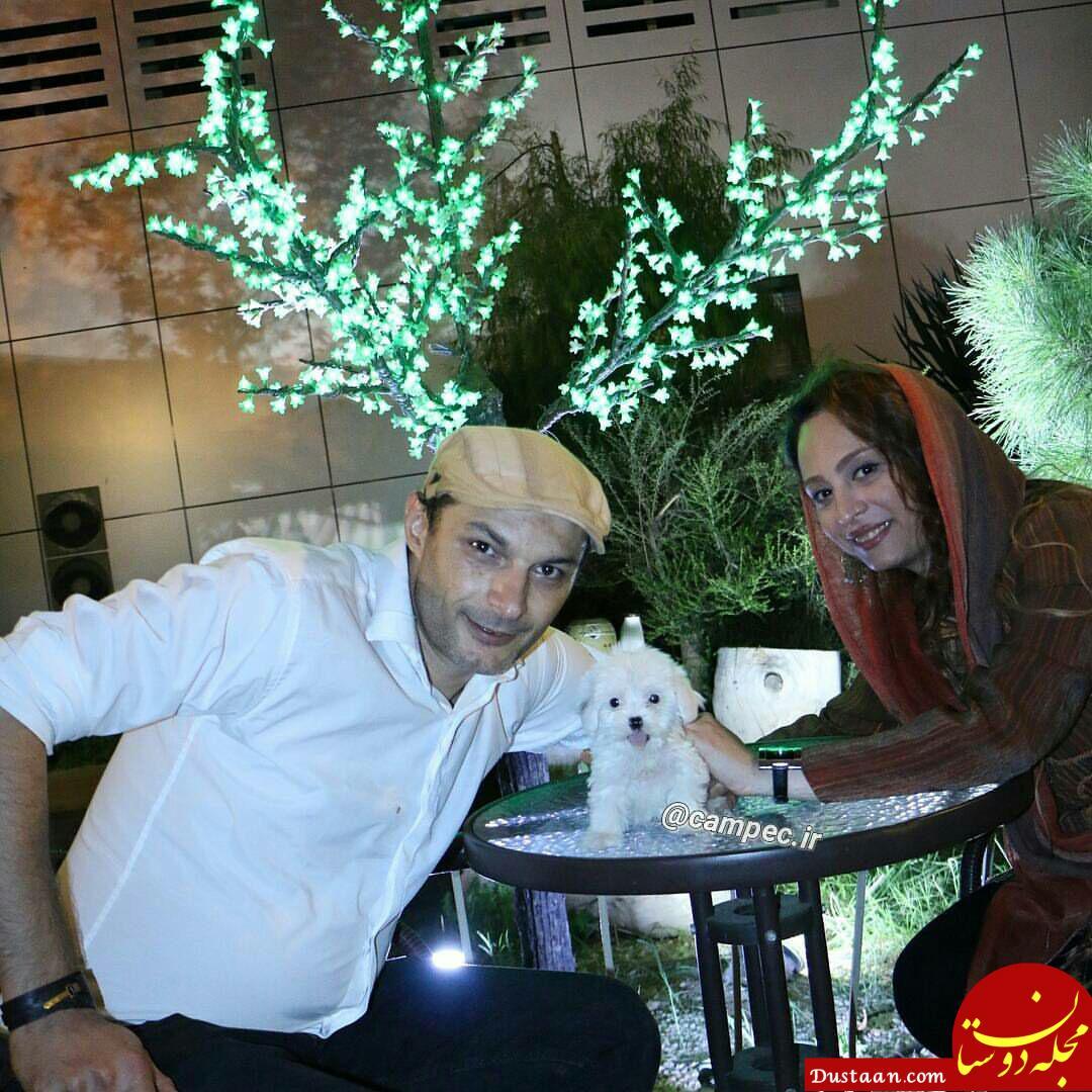 بیوگرافی رامین پرچمی و همسرش شفق میرشب + عکس های جدید