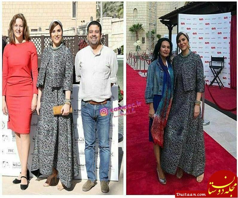 www.dustaan.com عکس های جدید سحر دولت شاهی در جشنواره فیلم دبی