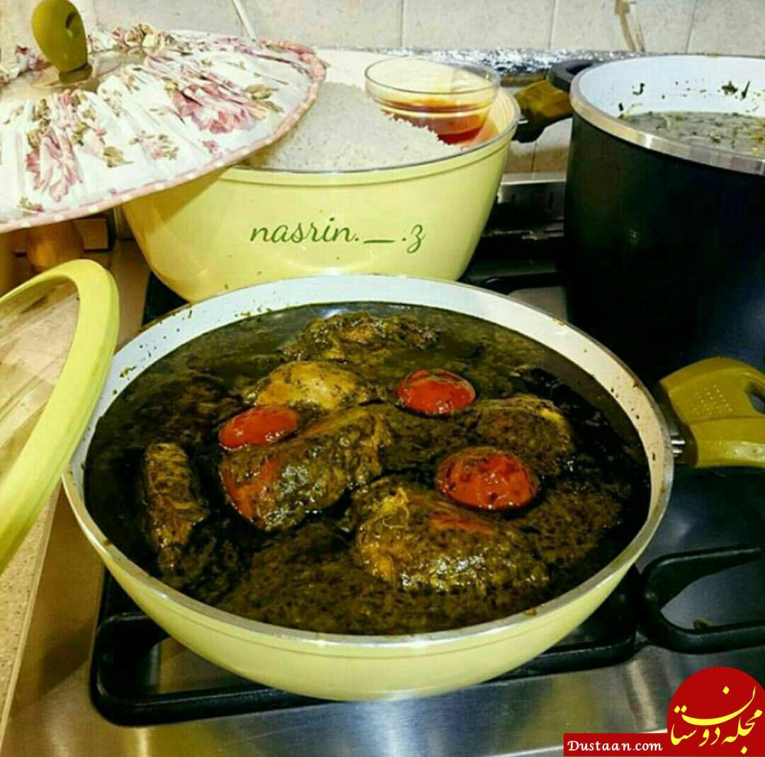 طرز تهیه ترش واش خورشت (سبز ترشی) ؛ غذای خوشمزه شمالی