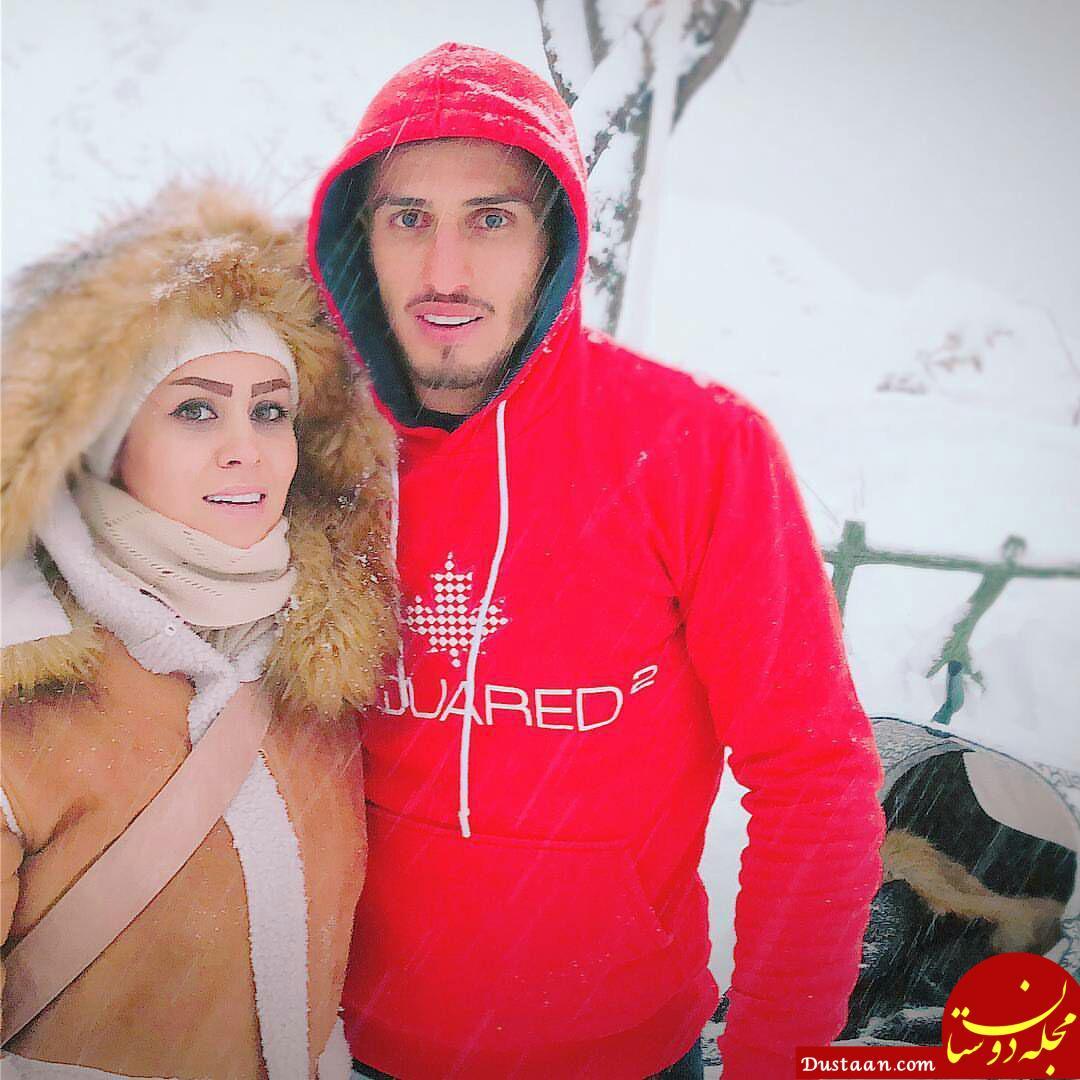بیوگرافی و عکس های جذاب علی علیپور ،همسرش زهرا دژوان و پسرش