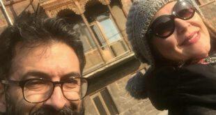 لاله اسکندری و همسرش ساسان فیروزی + بیوگرافی و عکس های خانوادگی