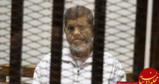 محمد مرسی به تحمل 3 سال زندان محکوم شد +عکس