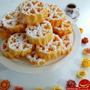 www.dustaan.com طرز تهیه نان پنجره ای