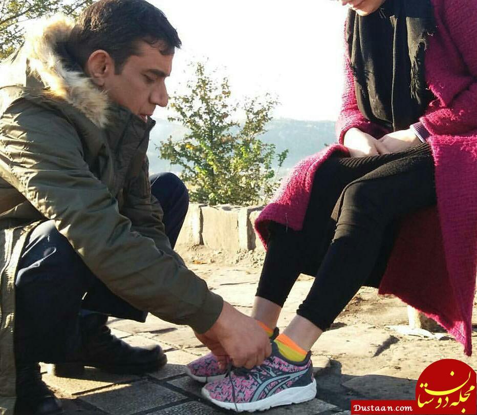 www.dustaan.com عکس خاص نصرالله رادش و همسر جدیدش!