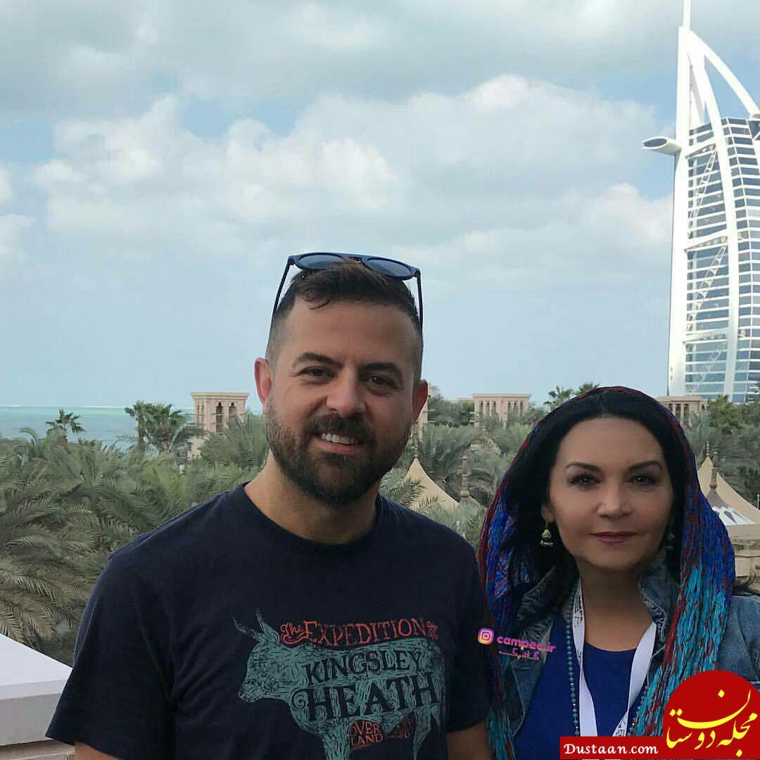 تیپ متفاوت نیکی کریمی و هومن سیدی در جشنواره فیلم دبی +تصاویر