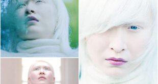دختری زیبا با پوستی سفید و خیره کننده! +عکس