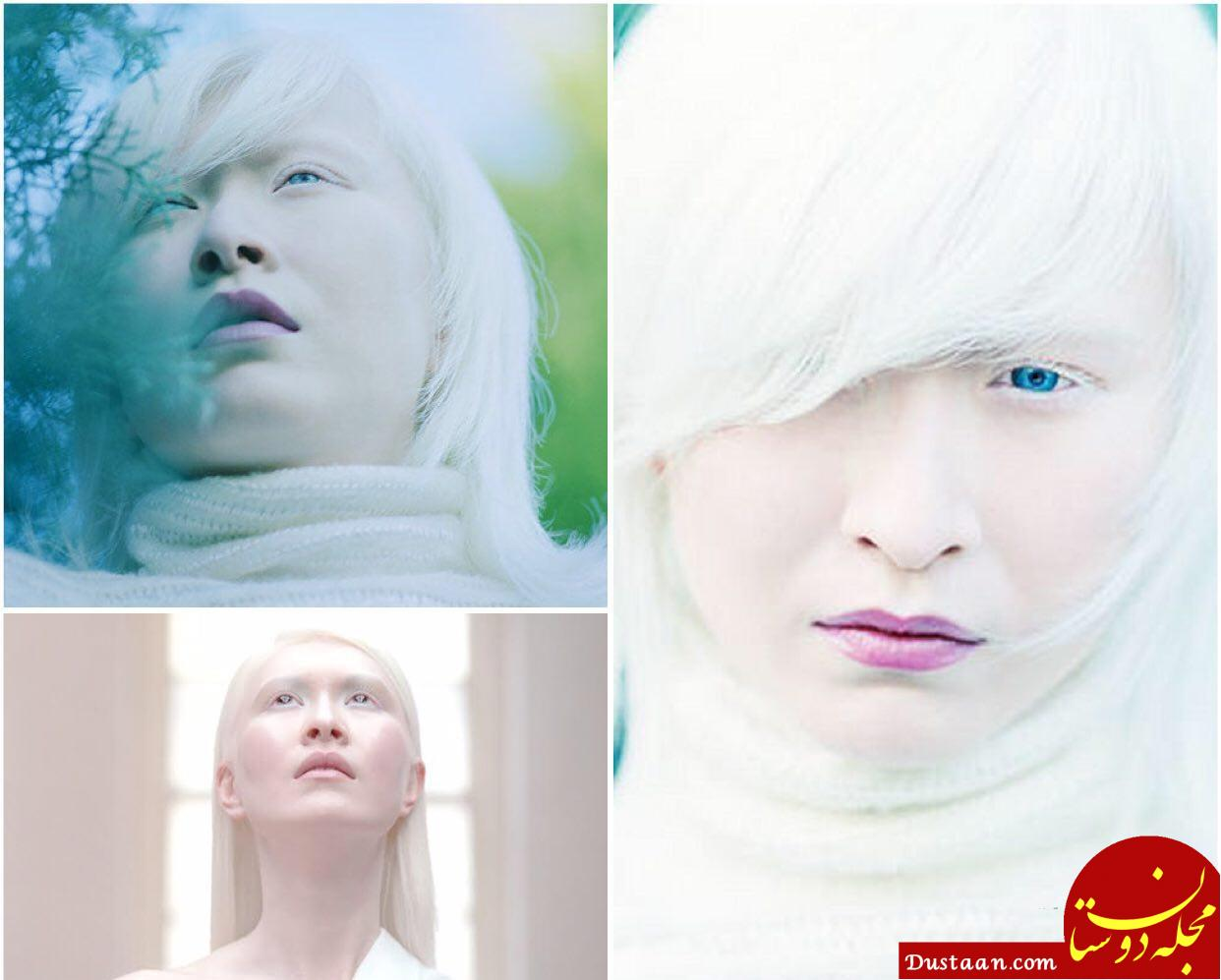 www.dustaan.com دختری زیبا با پوستی سفید و خیره کننده! +عکس