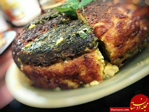 www.dustaan.com طرز تهیه کوکوی سه رنگ ؛ لذت آشپزی
