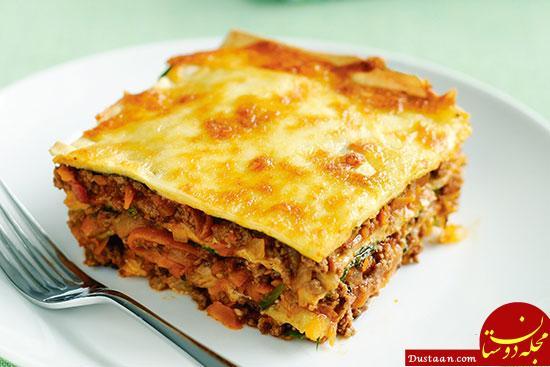 www.dustaan.com بهترین ترفندها برای پخت یک لازانیای خوشمزه