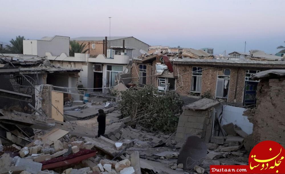 www.dustaan.com آخرین آمار تلفات زلزله در شهرستان سرپل ذهاب و قصرشیرین
