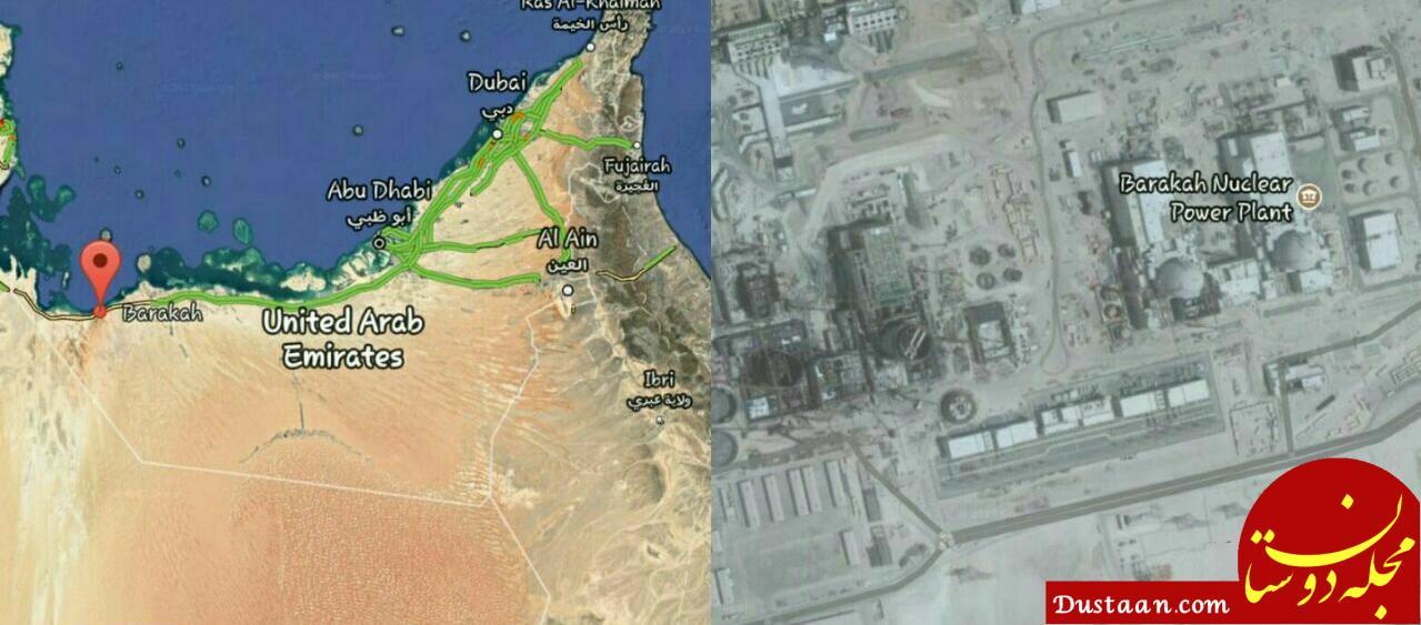 www.dustaan.com اصابت دقیق موشک شلیک شده یمن به راکتور هستهای ابوظبی + عکس