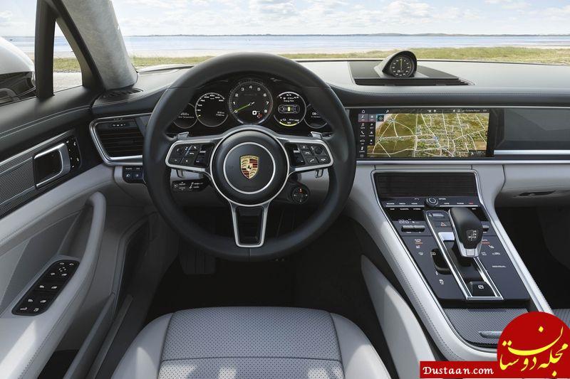 www.dustaan.com پورشه پانامرا هیبریدی «اسپرت توریزمو ۲۰۱۸ » قدرتمند ترین خودرو لوکس جهان + تصاویر