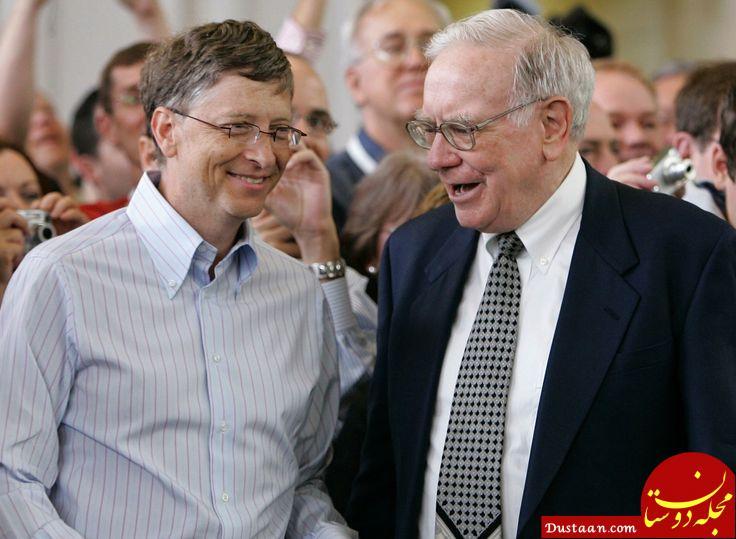 www.dustaan.com 2 میلیاردر معروف جهان که به فرزندانشان ثروتی نخواهند داد! +عکس