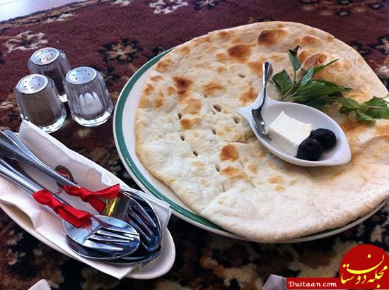 www.dustaan.com نان تافتون را در خانه بپزید + طرز تهیه