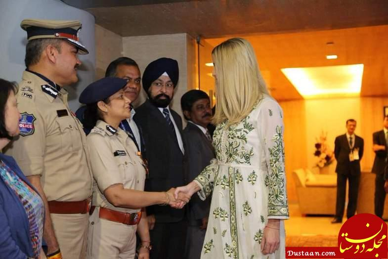 www.dustaan.com وقتی لباس های هندی ایوانکا ترامپ جنجال آفرین می شود! +تصاویر