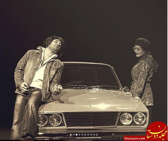 www.dustaan.com چهره دیدنی احسان کرمی در نمایش «روس ها دارن میان!» +تصاویر