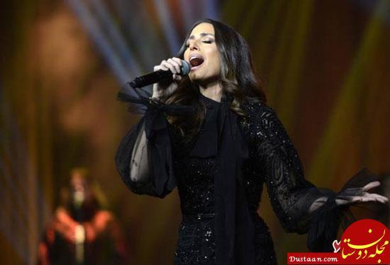 www.dustaan.com استقبال زنان عرب از اولین کنسرت هبه میشال طوجی خواننده معروف زن در عربستان + تصاویر