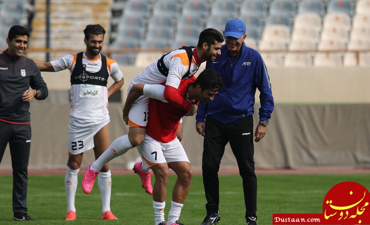 www.dustaan.com اتفاقی جالب در تیم ملی فوتبال!