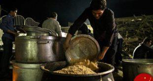 پخت بزرگترین غذای نذری جهان اسلام در یزد +تصاویر