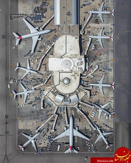 www.dustaan.com فرودگاه از نمایی بسیار زیبا +عکس