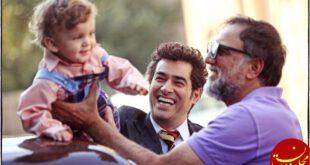 تصویر جدید شهاب حسینی در پشت صحنه شهرزاد