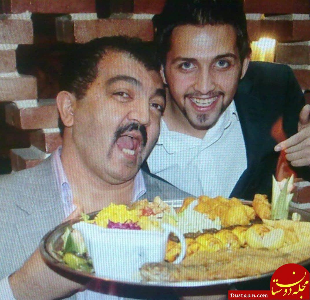 www.dustaan.com تبریک متفاوت احمد ایراندوست به ازدواج محسن افشار! +عکس