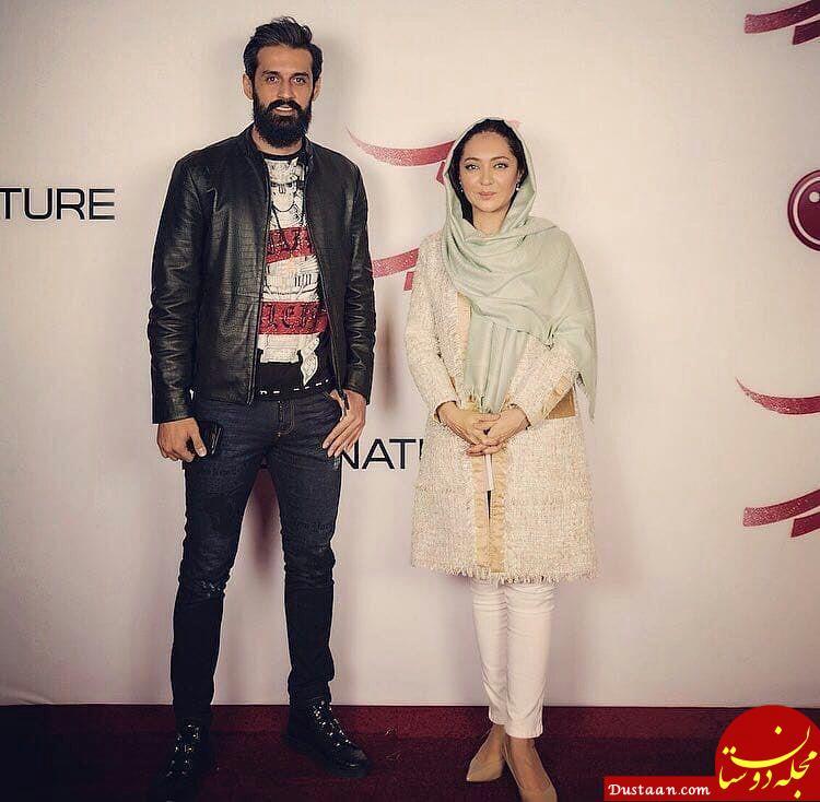 www.dustaan.com «سعید معروف» به افتتاحیه فیلم «نیکى کریمى» رفت! +عکس