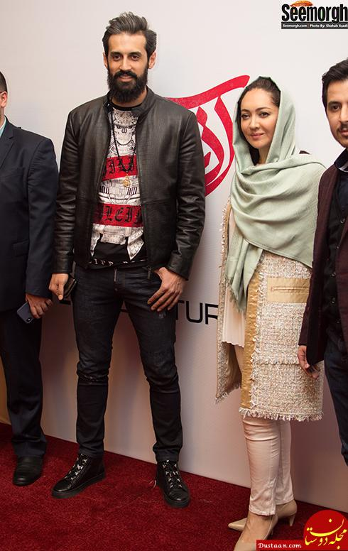 www.dustaan.com مراسم اکران «آذر» با حضور سعید معروف و علی دایی + تصاویر