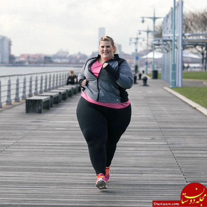 www.dustaan.com این دختر 25 ساله چاق ترین مدل دنیاست! +عکس