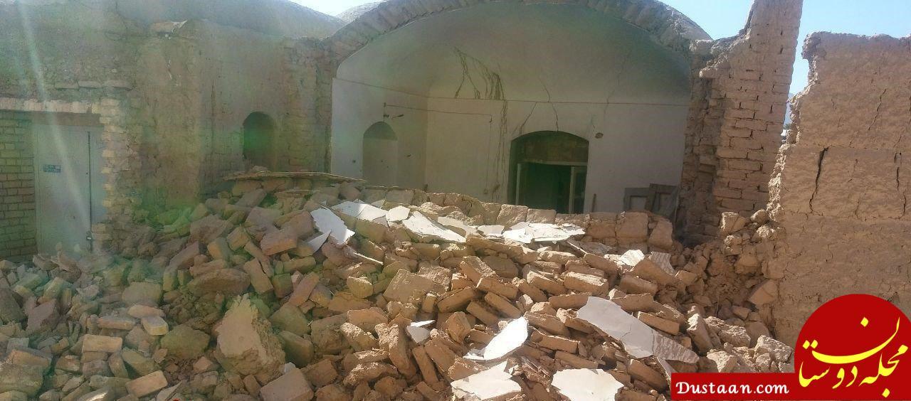 www.dustaan.com اوضاع کرمان پس از وقوع زلزله ۶.۲ ریشتری +تصاویر