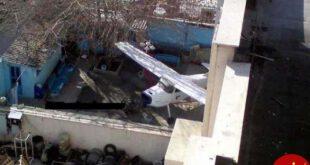 پارک هواپیما در حیاط خانه یک تهرانی + عکس