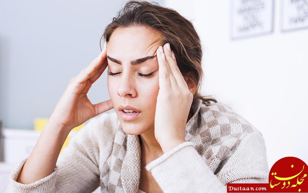 www.dustaan.com روش های خانگی برای درمان سردرد های خوشه ای + علایم و علل
