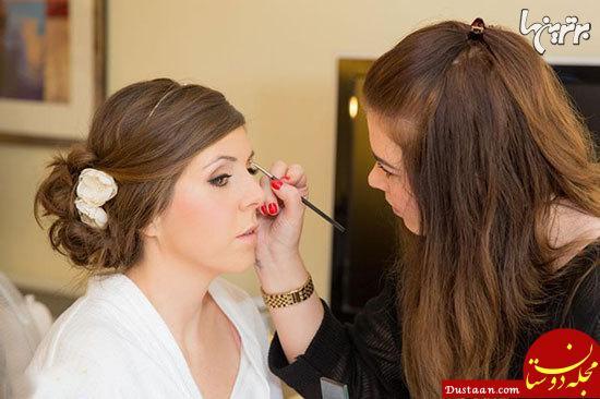 www.dustaan.com نکات طلایی که در آرایش عروسی باید رعایت کنید