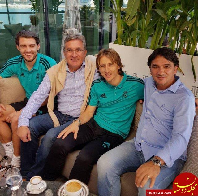 www.dustaan.com سرمربی موفق پرسپولیس در جمع بازیکنان رئال مادرید! +تصاویر