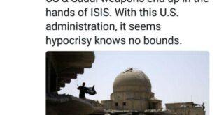 جدیدترین پست ظریف دربارۀ داعش +عکس