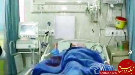 www.dustaan.com آزار و اذیت دختر ۲ ساله با چاقو توسط پدر شیشه ای!