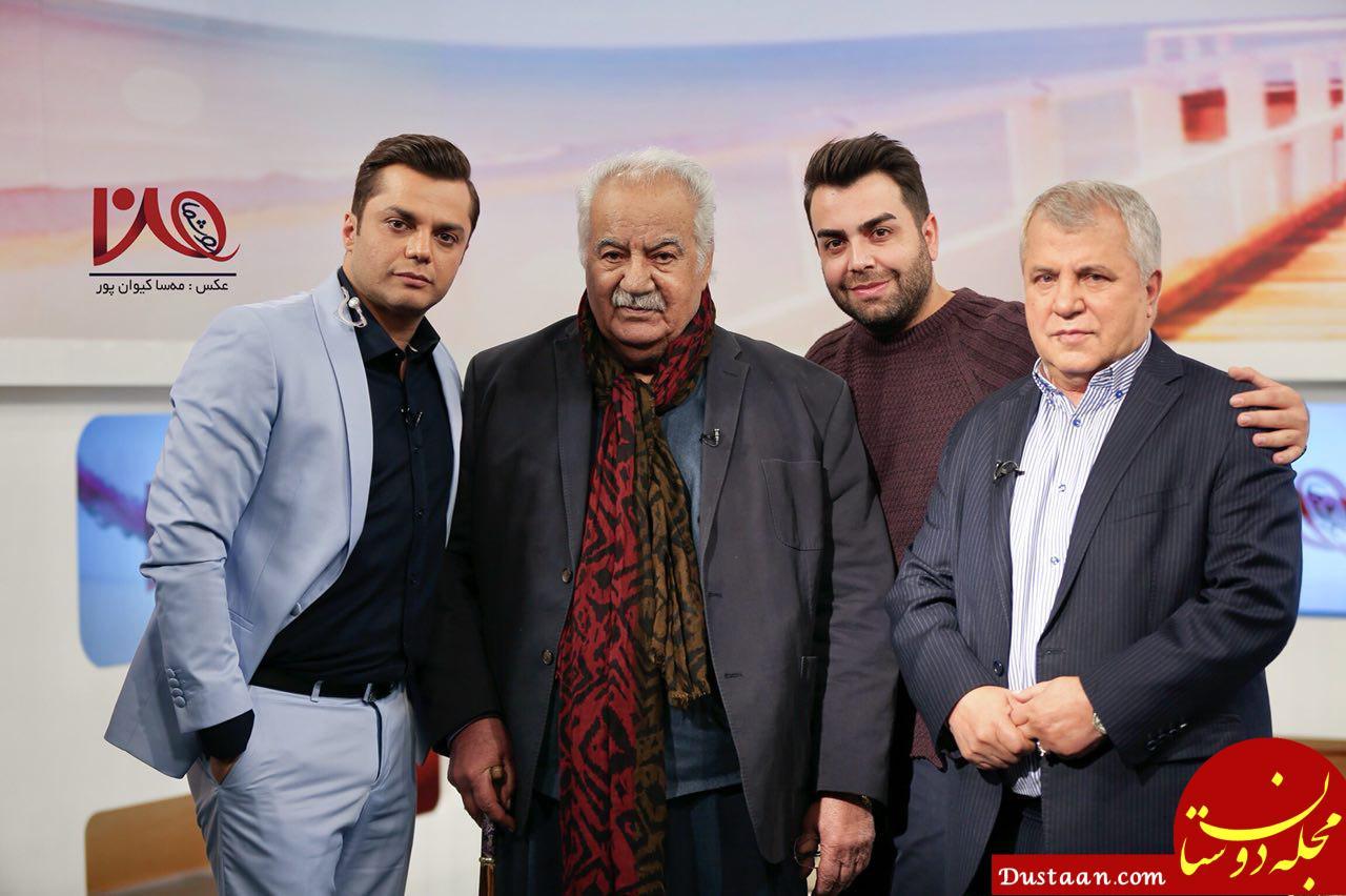نتیجه تصویری برای ناصر ملک مطیعی و علی پروین به تلویزیون می آیند