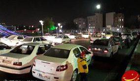 حضور مردم تهران در خیابانها در پی وقوع زلزله 5.2 ریشتری