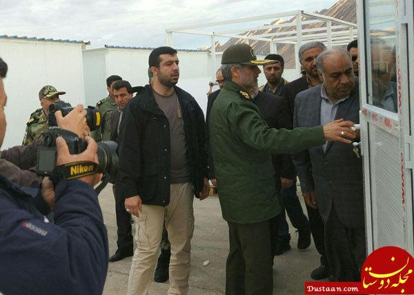 www.dustaan.com سفر وزیر دفاع به کرمانشاه +عکس