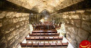 عکس: معبدی که صهیونیست ها زیر مسجدالاقصی ساختند