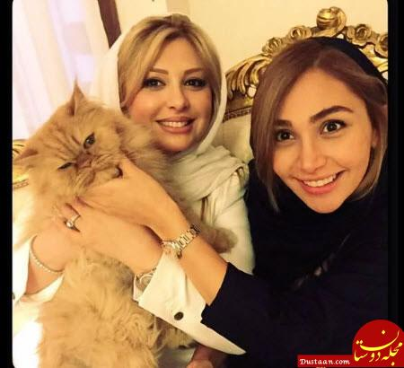 www.dustaan.com بیوگرافی و عکس های دیدنی نیوشا ضیغمی و همسرش آرش پولادخان