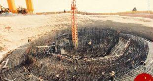 برج میلاد در روز های نخست ساخت +عکس