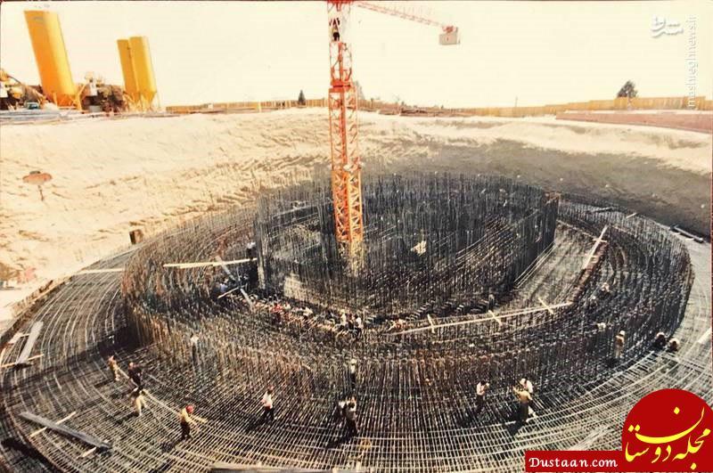 www.dustaan.com برج میلاد در روز های نخست ساخت +عکس