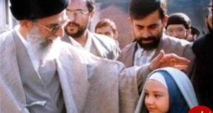 امام خامنه ای در پشت صحنه فیلم مریم مقدس +عکس