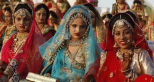 مرد ثروتمند 251 دختر جوان را راهی خانه بخت کرد +تصاویر