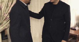 2 هنرمند محبوب در یک قاب! +عکس
