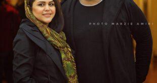 تصویری زیبا از محسن کیایی و همسرش